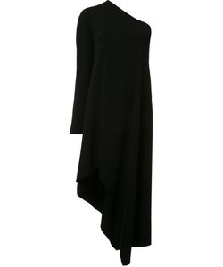 Narciso Rodriguez | Single Shoulder Asymmetric Dress 38 Viscose/Spandex/Elastane/Silk