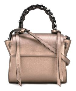 Elena Ghisellini | Mini Angel Magic Metal Tote Calf Leather