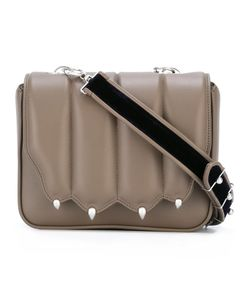 Marco De Vincenzo | Strap Studded Cross Body Bag Leather