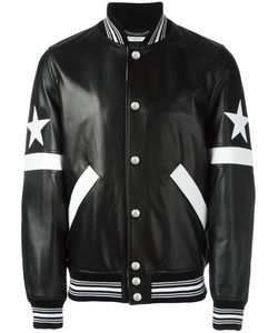 Givenchy   Star And Stripe Appliqué Jacket 50 Lamb