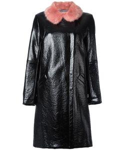 SHRIMPS | Hokus Hok Leather Effect Coat 10 Acrylic/Modacrylic/Polyurethane/Viscose
