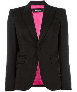 Dsquared2 | Notched Lapel Button Blazer 42 Virgin Wool/Spandex/Elastane/Polyester/Viscose