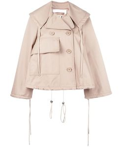 See By Chloe | See By Chloé Short A-Line Trench Jacket 36
