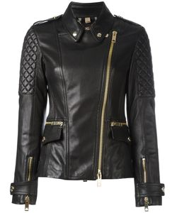 Burberry | Remmington Biker Jacket 8 Lamb Skin/Cotton/Acetate/Polyurethane