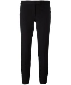 Joseph | Tailored Cropped Trousers 40 Spandex/Elastane/Viscose/Cotton