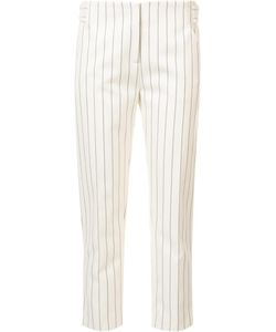 Victoria, Victoria Beckham | Victoria Victoria Beckham Straight Cropped Trousers 6 Wool/Cotton