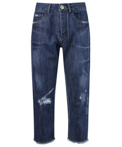 Uma Raquel Davidowicz | Cropped Jeans 38 Cotton