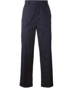 Sofie D'Hoore | Tailored Cropped Trousers 36 Cotton