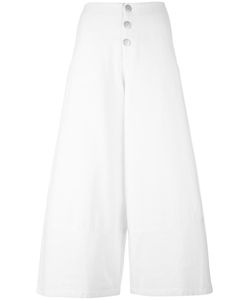 See By Chloe | See By Chloé Wide Leg Cropped Trousers 40