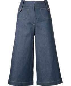 Derek Lam | Buckle Detail Short Trousers 40 Cotton/Polyurethane