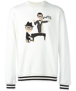 Dolce & Gabbana | Designers Patch Sweatshirt 46 Cotton
