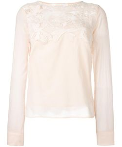 See By Chloe | See By Chloé Guipure Lace Blouse 40 Cotton