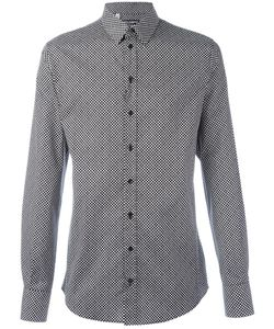 Dolce & Gabbana   Dot Print Shirt 42 Cotton/Spandex/Elastane