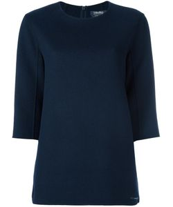 'S Max Mara | Three-Quarters Sleeve Knitted Blouse 38
