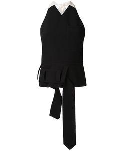 Christopher Esber | Utility Halter Vest Top 8 Polyester/Spandex/Elastane