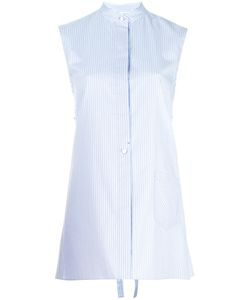 Helmut Lang | Striped Apron Shirt Womens Size Medium Cotton