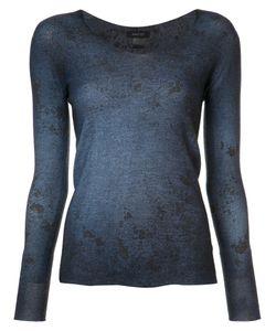 Avant Toi | V-Neck Jumper Small Silk/Cashmere