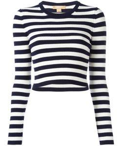 Michael Kors | Striped Jumper Small Nylon/Wool/Spandex/Elastane