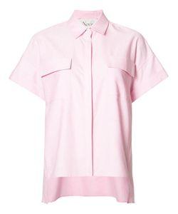 NOVIS | Tall Spread Collar Blouse 6 Cotton