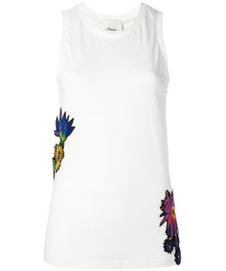 3.1 Phillip Lim | Embroidered Tank Top Large