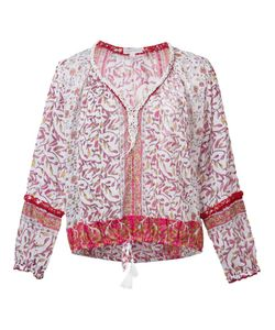 POUPETTE ST BARTH | Embroidered Blouse Large Cotton