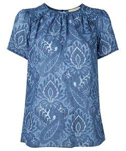 Michael Michael Kors | Print Blouse Medium Polyester