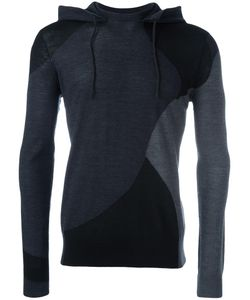 Emporio Armani   Contrast Hoodie Medium Wool