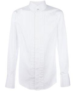 Vivienne Westwood | Man Pleated Front Shirt 48 Cotton