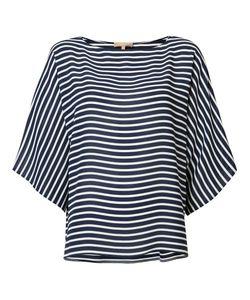 Michael Kors | Striped Blouse Medium Silk