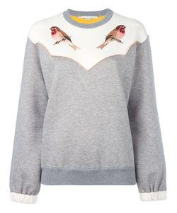 Stella Mccartney | Embroidered Robin Sweatshirt 42 Cotton/Polyamide