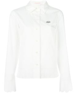 See By Chloe | See By Chloé Scalloped Cuff Shirt 40 Cotton