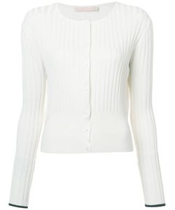 BROCK COLLECTION   Ribbed Cardigan Medium Silk