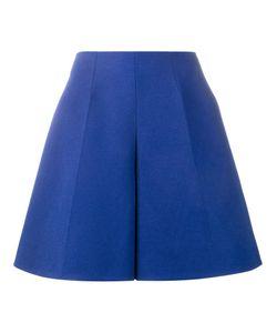 Delpozo | Flared Bermuda Shorts 40 Linen/Flax/Cotton/Viscose
