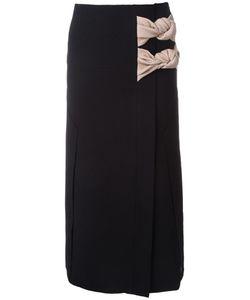 Christopher Esber | Tailored Vent Knot Skirt 8 Polyester/Spandex/Elastane