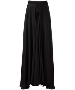 Lanvin | Flared Maxi Skirt 38 Silk