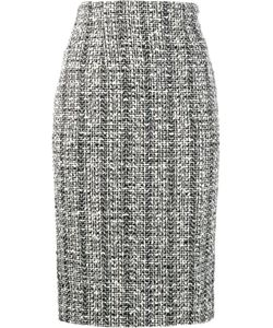 Alexander McQueen | Tweed Pencil Skirt 40 Cotton/Virgin Wool/Viscose/Silk