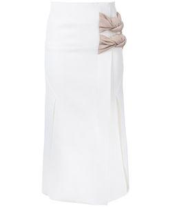 Christopher Esber | Tailored Vent Knot Skirt 6 Polyester/Spandex/Elastane