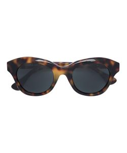 Linda Farrow | Blurred Leopard Print Sunglasses Acetate