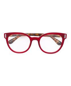 Prada Eyewear   Striped Glasses Acetate