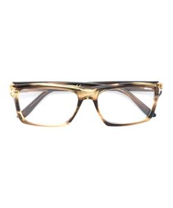 Tom Ford Eyewear | Rectangular Frame Glasses Acetate/Metal Other