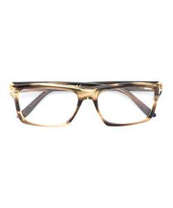 Tom Ford Eyewear | Rectangular Frame Glasses Acetate/Metal Other