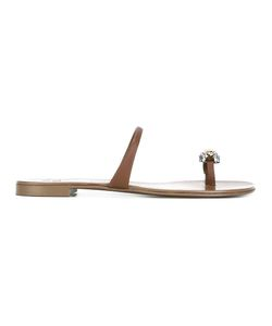 Giuseppe Zanotti Design | Laetitia Sandals 38.5 Calf Leather/Leather