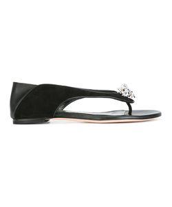 Alexander McQueen   King And Queen Skull Sandals 36.5