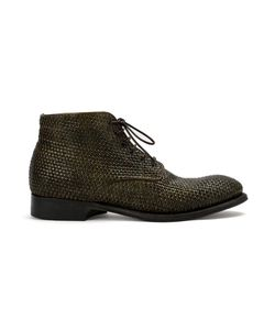 Silvano Sassetti | Lace Up Boots 9 Leather/Rubber
