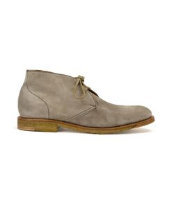Silvano Sassetti | Lace Up Boots 8 Leather/Calf Suede/Rubber