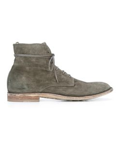 Officine Creative | Lace-Up Boots 7.5 Leather/Suede