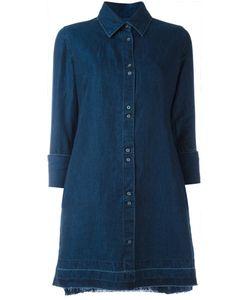J Brand | Denim Shirt Dress Small Cotton/Linen/Flax