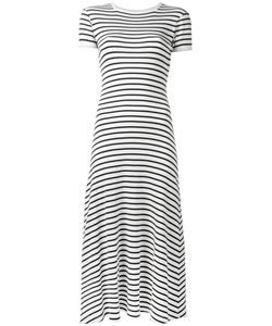 JEAN PAUL GAULTIER VINTAGE | Striped Sailor Midi Dress Xs