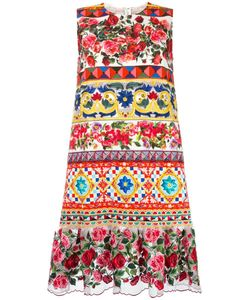 Dolce & Gabbana | Mambo Print Peplum Dress 44