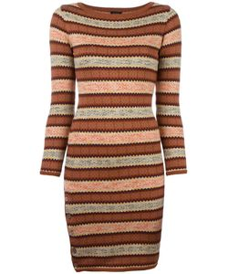 JEAN PAUL GAULTIER VINTAGE | Fair Isle Knitted Dress 40